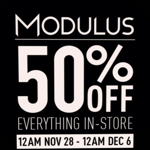 20191129 Black Friday Sales modulus