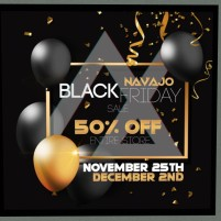 20191129 Black Friday Sales navajo