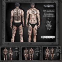 20191208 The Men Jail vegas tattoo