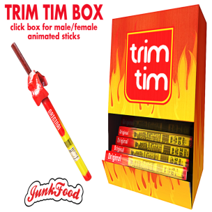 20191213 Manly Weekend Junk Food - Trim Tim Box ad