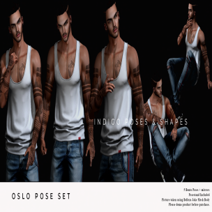 20191213 Manly Weekend Oslo Pose Set