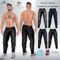 20191220 Manly Weekend ALANTORI - Skinny Jeans Manly Weekend