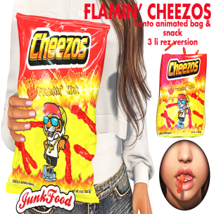 20191220 Manly Weekend Junk Food - Flamin' Cheezos Ad