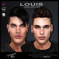 20191220 Manly Weekend LOUIS SKIN [ VENDETTA ]