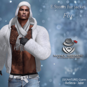 20200117 Manly Weekend E.Storm fur jacket. Fox