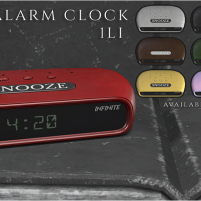 20200131 Manly Weekend Infinite Basics - Alarm Clock (AD)
