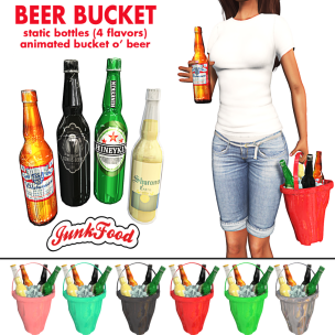 20200131 Manly Weekend Junk Food - Beer Buckets Ad