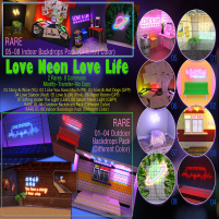 20200207 Manly Weekend [VO.Z] Love Neon Love Life Gacha Key