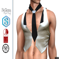 20200207 Manly Weekend Waistcoat&Necktie _Robert_ TwoSided AD