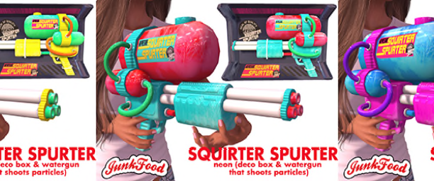 20200214 Manly Weekend Junk Food - Squirter Spurter Squirtguns Ad