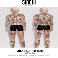 20200214 Manly Weekend SINCHI - Paradise Tattoo