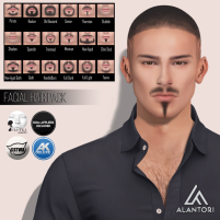 20200221 Manly Weekend ALANTORI - Facial Hair Pack