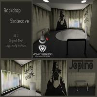 20200221 Manly Weekend Joplino Backdrop Skatecave Ad SL Manly Weekend