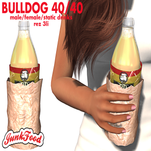 20200228 Manly Weekend Junk Food - Bull Dog Drink ad
