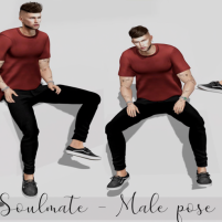 20200228 Manly Weekend Soulmate - Male Pose Pack