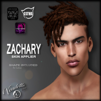 20200228 Manly Weekend [ VENDETTA ] - ZACHARY Skin - ( CATWA + BOM _ OMEGA )