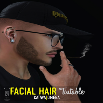 20200206 Manly Weekend {FE STYLE} Facial Hair [AE] TINTABLE