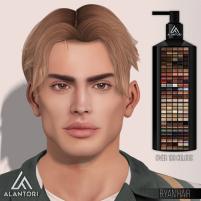 20200320 Manly Weekend ALANTORI - Ryan Hair in 100 colors