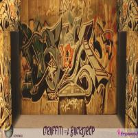 20200320 Manly Weekend GRAFFITI #2 BACKDROP MW