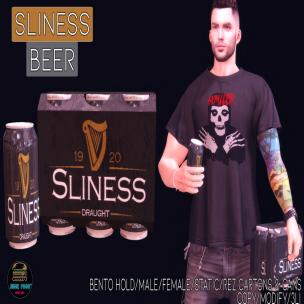 20200320 Manly Weekend Junk Food - Sliness Beer Ad