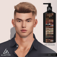 20200327 Manly Weekend ALANTORI - Akio Hair in over 100 Colors