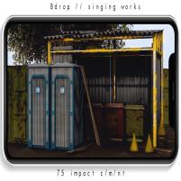 20200327 Manly Weekend Bdrop __ singing works [vendor]