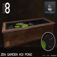 20200403 Manly Weekend __Code 8__ Zen Garden Koi Pond