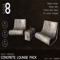 20200417 Manly Weekend Code 8 Concrete loung pack Adult