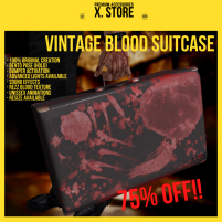 20200424 Manly Weekend Vintage Blood Suitcase (75% OFF Manly Weekend)