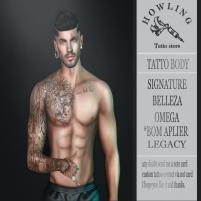 20200501 Manly Weekend H O W L I N G _ tattoo. Vendor ( 01)