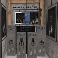 20200517 Mancave broken arrows