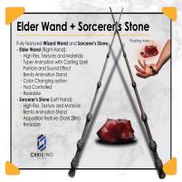 20200522 Manly Weekend Elder-Wand+Sorcerers-Stone-ManlyWeekend
