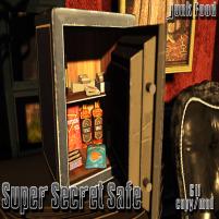 20200522 Manly Weekend Junk Food - Super Secret Safe Ad