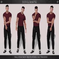 20200522 Manly Weekend SOULMATE - Paul pose pack