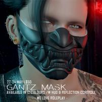 20200522 Manly Weekend ZEN-MANLY WEEKEND-GANTZ MASK