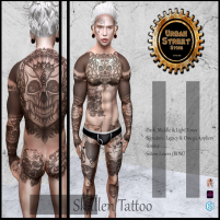 20200529 Manly Weekend __UbS__ Skallen Tattoo AD