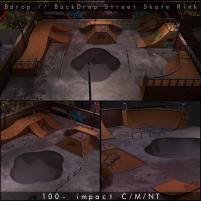 20200529 Manly Weekend Bdrop __ BackDrop Street Skate Rink - ADS