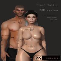 20200529 Manly Weekend MINIMALIST Flash Tattoo