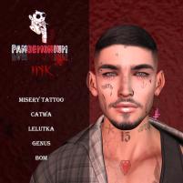 20200529 Manly Weekend panDEMONium ink - Misery Tattoo