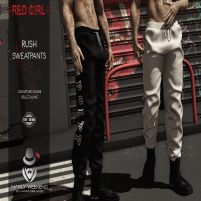 20200529 Manly Weekend [RED GIRL] Rush Sweatpants MANLY