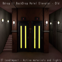 20200619 Manly Weekend Bdrop __ BackDrop Hotel Elevator - Old - ADS