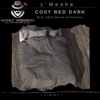 20200619 Manly Weekend L'Meshe Cosy Bed (Dark Version) Boxed Adult
