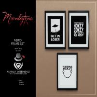20200619 Manly Weekend Moonley Inc. - Neird Frame Set - Manley