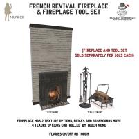 20200619 Manly Weekend Muniick-FrenchRevivalFireplace-MW