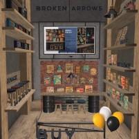 20200620 Mancave broken arrows