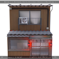 20200626 Manly Weekend Bdrop Kitsune Tails Artifact Store [ Building ]