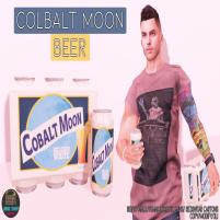 20200626 Manly Weekend Junk Food - Colbalt Moon Beer Ad