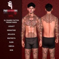 20200626 Manly Weekend panDEMONium ink - El Craneo