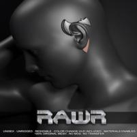 20200626 Manly Weekend Rawr! Axe Ear Cuff