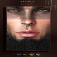 20200626 Manly Weekend Rock Septum AD by Madame Noir
